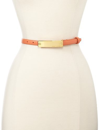 Vince Camuto Women's Logo Buckle Belt