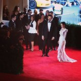 Rooney Mara arrived on the red carpet at the Met Gala. Source: Instagram user popsugar