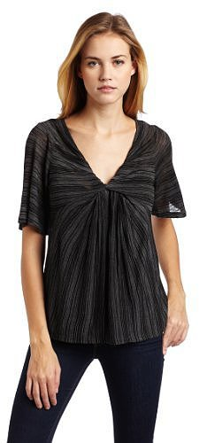Ella moss Women's Georgie Flutter Sleeve Top