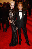 Anne Hathaway and Valentino Garavini