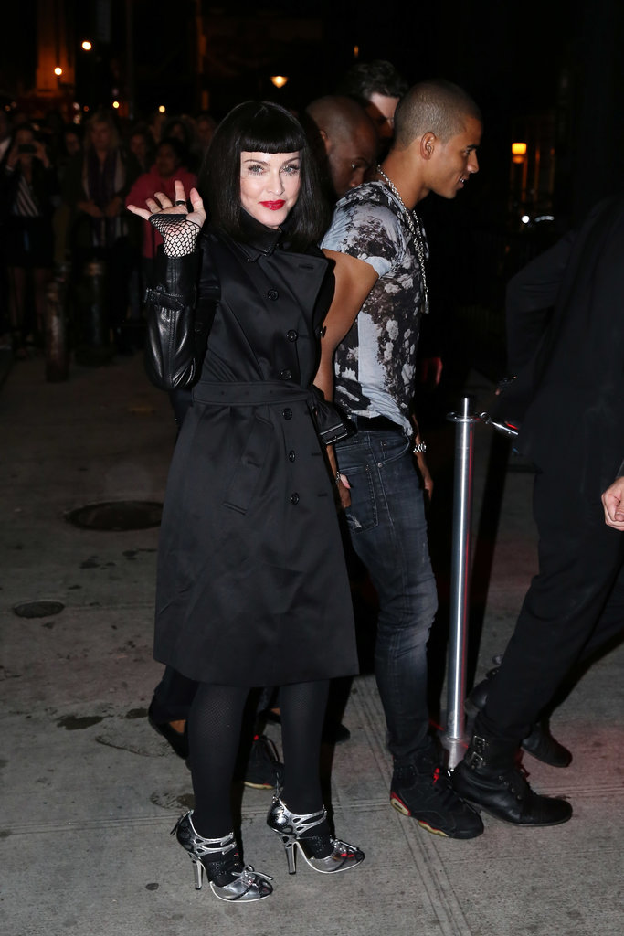 Madonna and her boyfriend, Brahim Zaibat, walked into the bash together.
