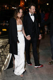 Olivia Wilde and Jason Sudeikis held hands as they arrived at the afterparty.