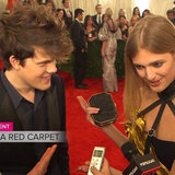 Wes Gordon and Constance Jablonski Met Gala Interviews