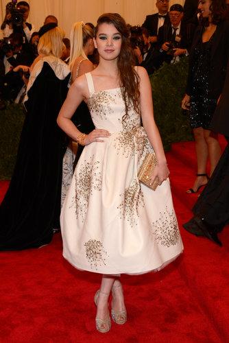 Hailee Steinfeld at the Met Gala 2013.