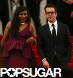 Mindy Kaling and B.J. Novak left the Met Gala together.
