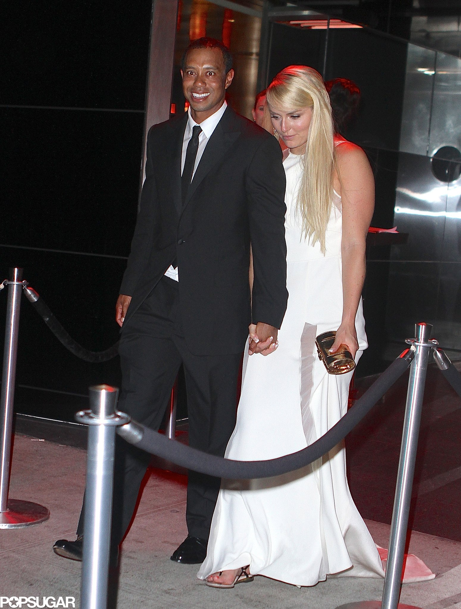 Lindsey Vonn and Tiger Woods were all smiles at the Met Gala    Lindsey Vonn Tiger Woods Yacht