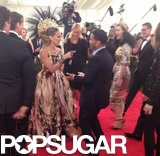 Katy Perry was so excited to see Sarah Jessica Parker.