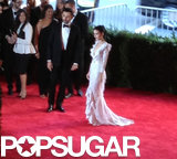 Rooney Mara opened the carpet with Givenchy designer Riccardo Tisci.