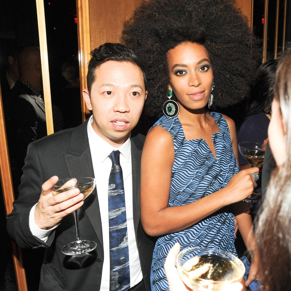 Humberto Leon and Solange Knowles. Source: Neil Rasmus/BFAnyc.com