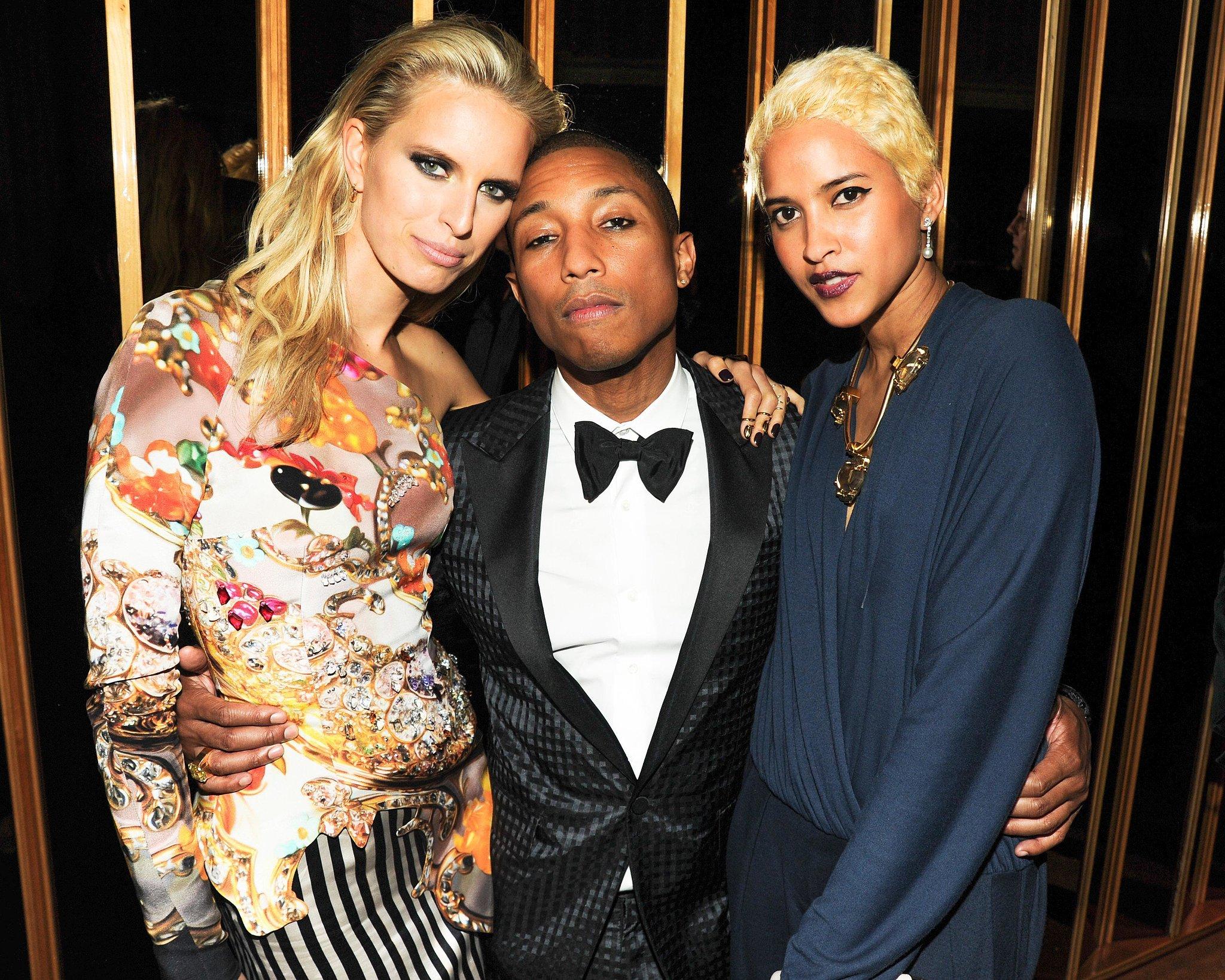 Karolina Kurkova, Pharrell Williams, and Helen Lasichanh ...