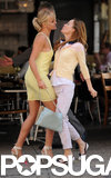 Leslie Mann Picks a Fight With Cameron Diaz on Set