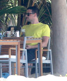 "Lea Michele ""Rests Up the Mind Body and Soul"" in Mexico With Cory Monteith"