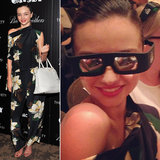 Miranda Kerr Gets In on the Gatsby Greatness — in 3D Glasses!