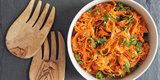 Off the Bookshelf: The New Persian Kitchen's Sesame Carrot Salad