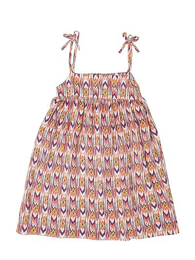 This cotton sundress ($85) from Little Paul and Joe is a comfortable option that will make getting dressed in the morning a breeze.