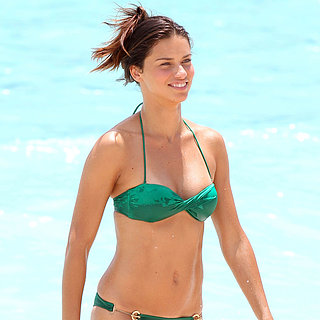 Adriana Lima Bikini Photo Shoot in St. Barts