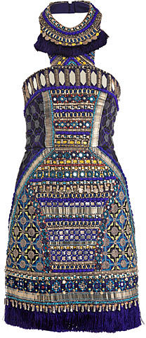 Matthew Williamson Bhangra beaded dress