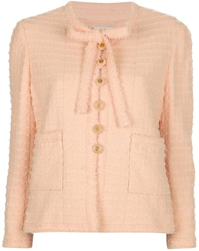 Chanel Vintage bouclé-knit jacket