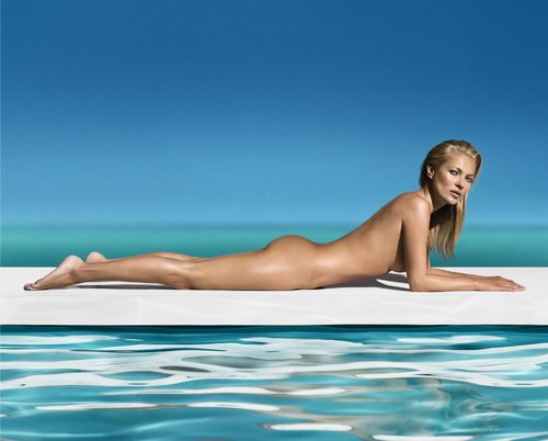 Kate Moss Poses Naked For St. Tropez