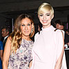 Anne Hathaway With Blond Hair at Tate Dinner | Photos