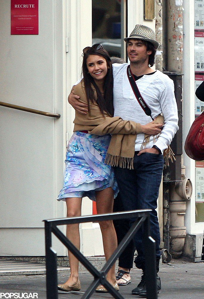Nina Dobrev and Ian Somerhalder's relationship first went public when they showed PDA in Paris back in May 2011.