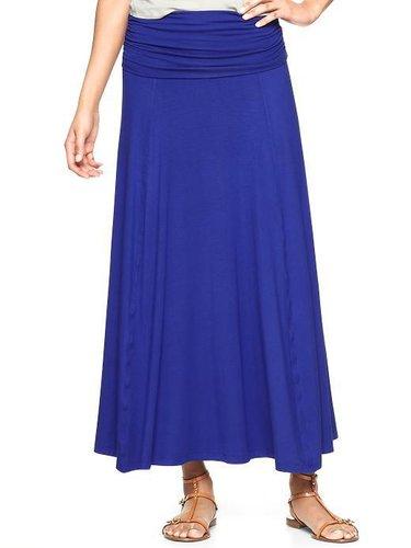 Long foldover skirt
