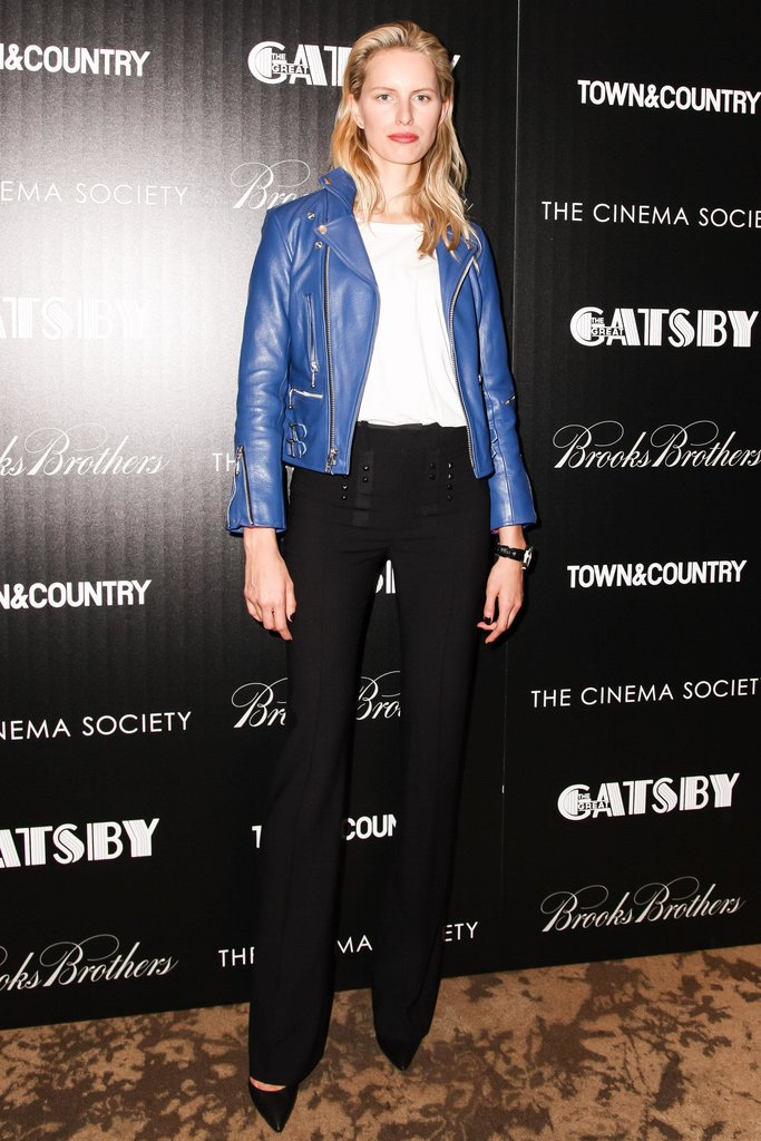 Karolina Kurkova at The Great Gatsby's screening in New York. Source: Matteo Prandoni/BFAnyc.com