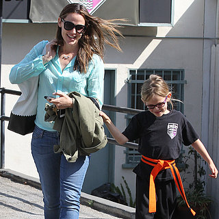 Jennifer Garner and Daughter at Karate Class | Photos