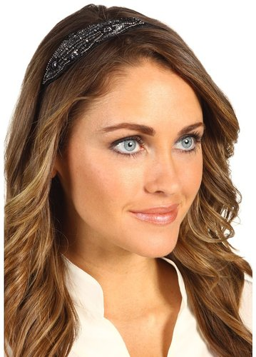 Jane Tran - Barlow Beaded Headband (Black) - Accessories