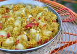 Scallop Paella