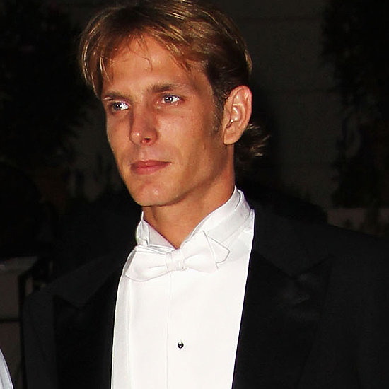 They always manage to look dapper, like royal hunk Andrea Casiraghi — second in line to Monaco's throne, first in line to our hearts.
