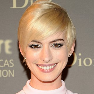 Anne Hathaway Blonde Hair | 2013