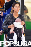 Lily Aldridge and her husband, Caleb Followill, became a family of three in June 2012 when baby Dixie was born.