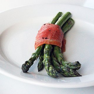Healthy Asparagus and Salmon Snack