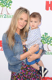 Molly Sims and her husband, Scott Stuber, welcomed their first child, Brooks, in June 2012.