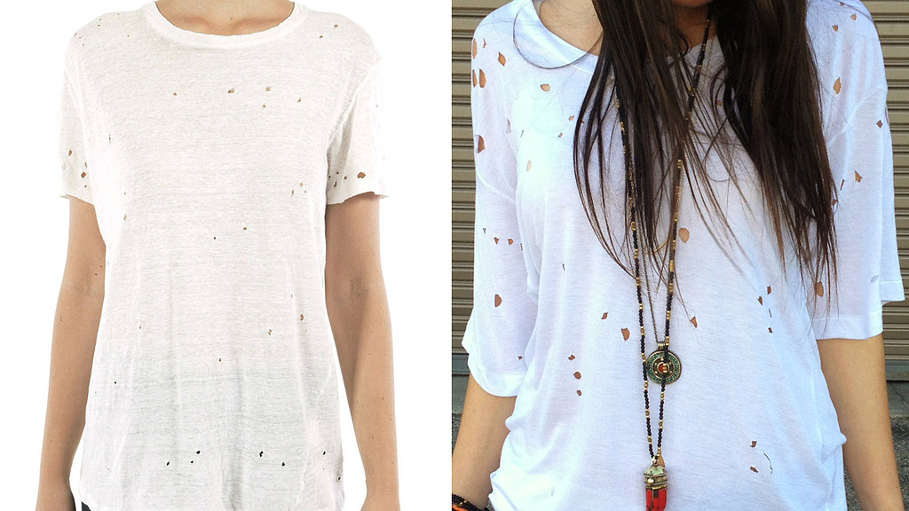 Create the Perfect Holey Tee in 5 Minutes!