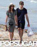 Keira Knightley and James Righton enjoyed the Corsica sun.