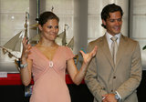 He visited a Shanghai maritime museum with Princess Victoria in 2006.