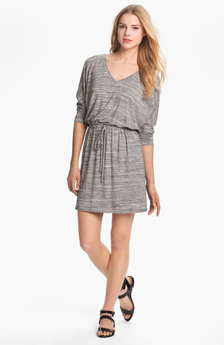 Caslon Three Quarter Dolman Sleeve Knit Dress