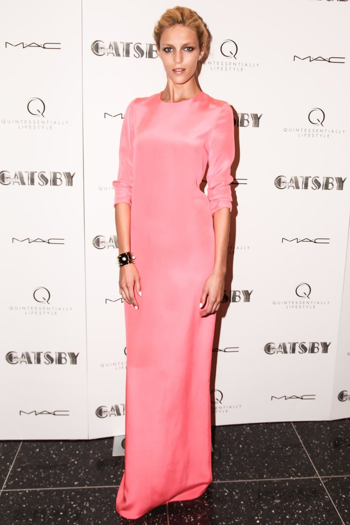 Anja Rubik at The Great Gatsby's private screening in New York. Source: Matteo Prandoni/BFAnyc.com