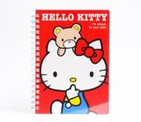 Hello Kitty Double Ring Notebook