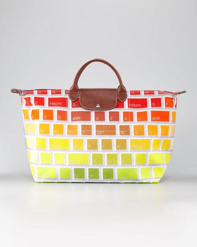 Longchamp Jeremy Scott Clavier Travel Tote Bag