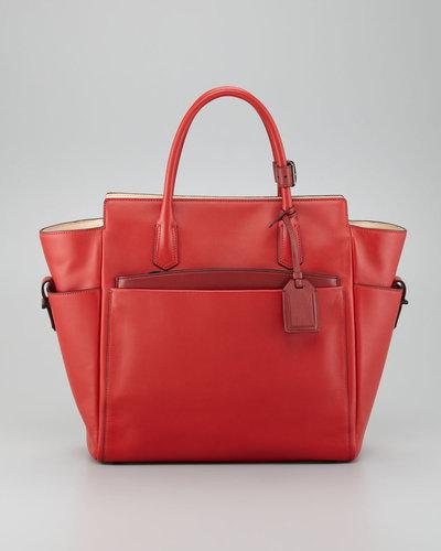 Reed Krakoff Atlantique Tote Bag, Crimson Red