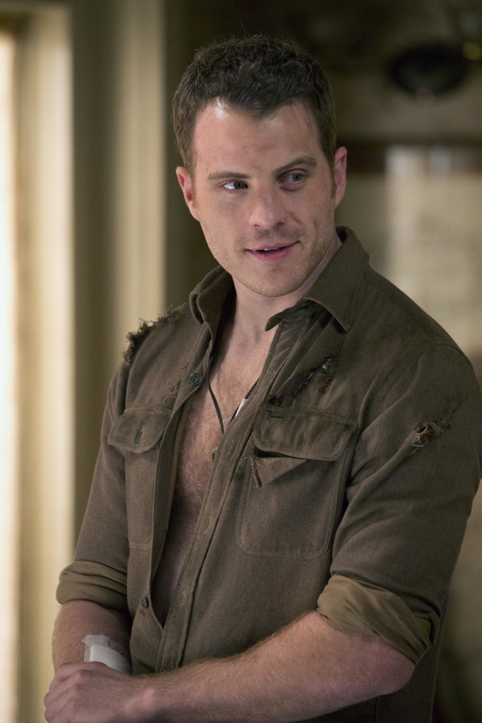 Rob Kazinsky as Ben Flynn on True Blood.