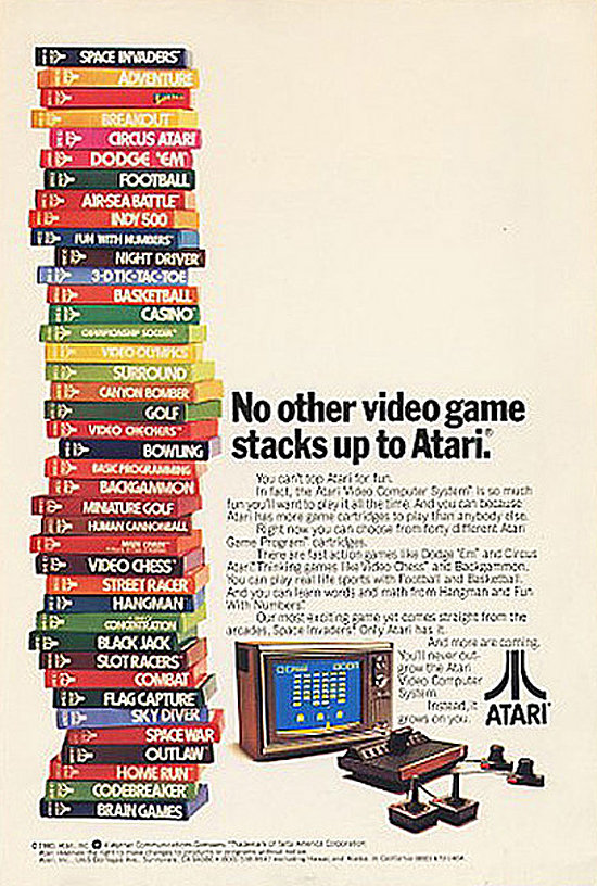 Video Games by Atari