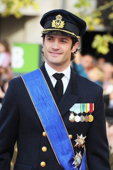 Prince Carl Philip was sharp at the 2012 wedding of Prince Guillaume of Luxembourg and Stephanie de Lannoy.