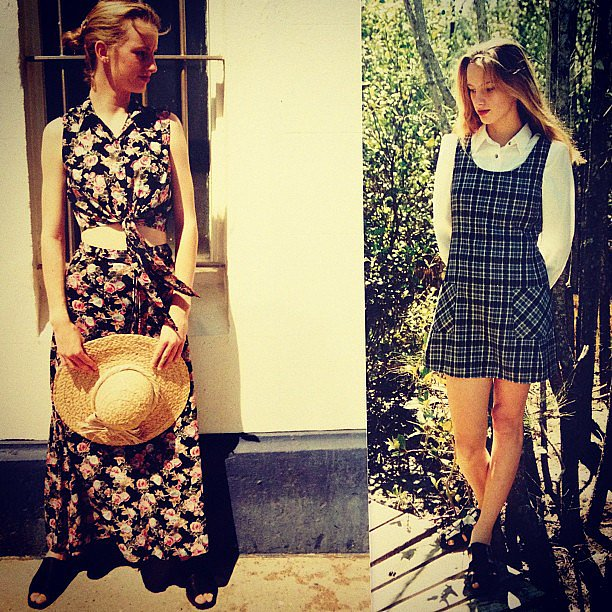 Samantha Wills reminisced on her modelling days by sharing these snaps from her childhood and teenage years. Cute! Source: Instagram user samanthawills