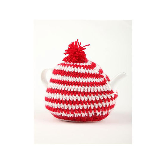 Typo Knitted Tea Cosy, $15