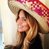 Renee Bargh rocked a sombrero with the best of them for Cinco de Mayo, the American and Mexican festival celebrating the fifth of May. Source: Instagram user reneebargh