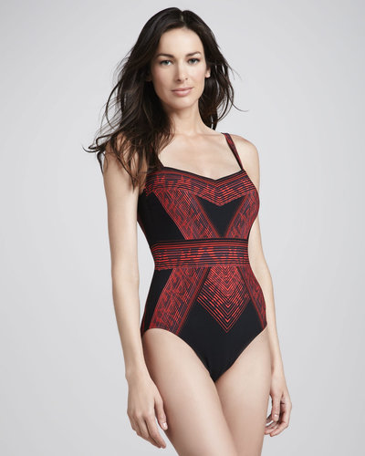 Gottex Indochine Printed One-Piece Swimsuit